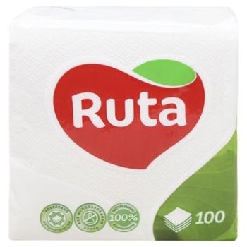 Ruta White Napkins 100pcs