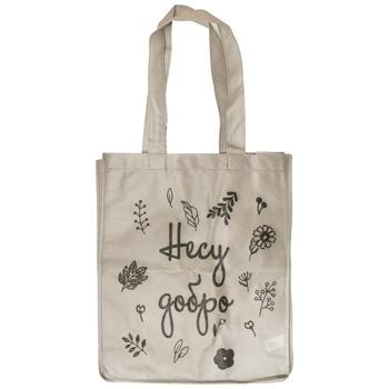 Еко-сумка Несу Добро спанбонд 415х345х120мм - купити, ціни на Varus - фото 2