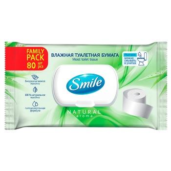 Smile Family Wet Toilet Paper 80pcs
