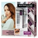 Подарунковий набір Maybelline New York The Falsies Lash Lift Ultra Black