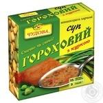 Суп Чудова гороховый со вкусом курицы 160г