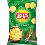 Чипсы картофельные Lay's со вкусом зеленого лука 133г