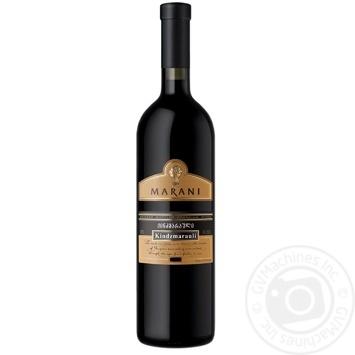 Marani Kindzmarauli red semi-sweet wine 11% 0,75l - buy, prices for Auchan - photo 1