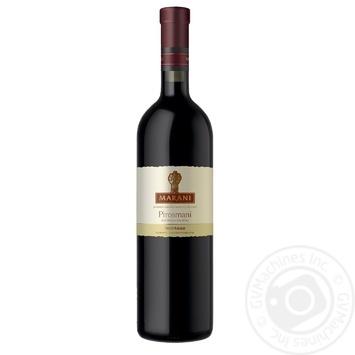 Вино Marani Пиросмани красное полусухое 12,5% 0,75л