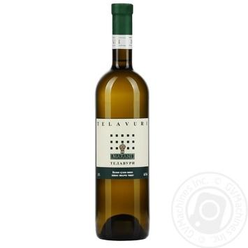 Вино Марани Телавури белое сухое 0,75л