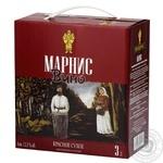 Вино Marani Marnis красное сухое 12,5% 3л