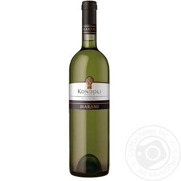 Вино Marani Kondoli Rkatsiteli белое сухое 13,5% 0,75л
