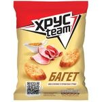 Khrusteam Baguette Boiled Pork and French Mustard Flavored Crackers 60g