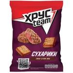 Сухарики Хрусteam пшенично-ржаные со вкусом стейка барбекю 60г