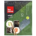 Норі водорості Katana морські сушені 10 листів