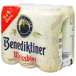 Benediktiner Light Unfiltered Beer 5,4% 0,5l