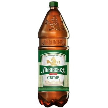 Пиво Львовское светлое 4,7% 2,4л
