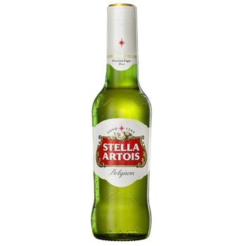 Пиво Stella Artois светлое 4,8% 0,5л
