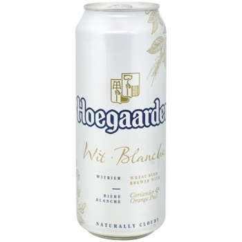 Hoegaarden White Beer can 4.9% 0,5l - buy, prices for CityMarket - photo 1
