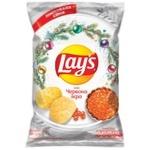Чипсы Lay's картофельные со вкусом красной икры 120г