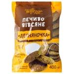 Печенье овсяное Українська Зірка Десняночка 400г
