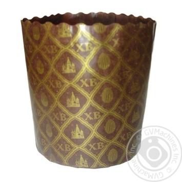 Форма Ecopack ХВ-сетка для выпечки пасхи бумажная 11*8,5см