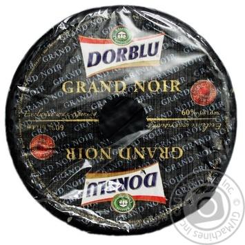 Сир Kaserei Champignon Grand Noir Дор Блю з блакитною пліснявою 60% - купити, ціни на Novus - фото 1