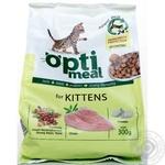 Корм сухий Optimeal для кошенят з куркою 300г
