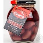 Оливки Olivero Каламата з кісточками бочкові 350г
