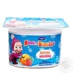 Йогурт Данон Маша та Ведмідь Персик-Малина 1,4% 115г