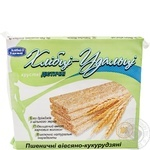 Crispbread Hlebtsy-udalʹtsy wheat-oats-corn for diabetics 100g