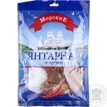 Snack Morskie Succinic pepper salted dried 70g Ukraine