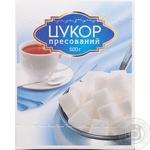 Refined sugar Art foods white pressed 500g Ukraine