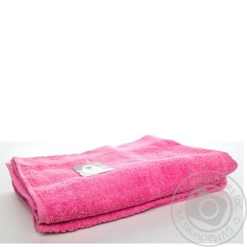 Рушник Zastelli махровий 70*140 рожевий