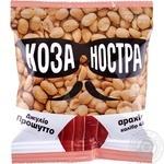 Ядра арахісу смажені солоні зі смаком прошутто Коза Ностра 40г