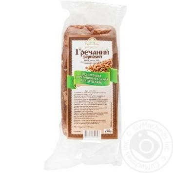 Хлеб УкрЭкоХлеб Гречаный Зерновой 330г