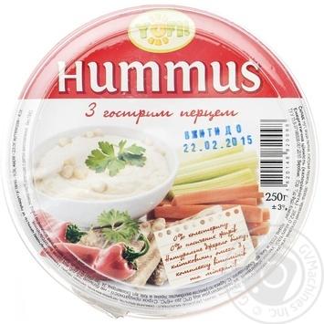 YoFi! With Hot Pepper Hummus