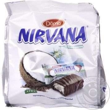 Цукерки Nirvana глазуровані кокос 173г  Україна