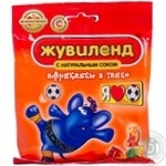 Candy Zhuvilend Afrikanzi v tanzi 85g packaged Ukraine