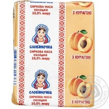 Slovyanochka Сottage Сheese With Dried Apricots