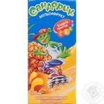 Unclarified sterilized enriched nectar Sandoryk multifruit for children tetra pak 330ml Ukraine