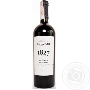 Вино красное Пуркарь Пино Нуар дэ Пуркарь натуральное виноградное марочное качественное выдержанное сухое 13% 750мл - купить, цены на МегаМаркет - фото 2