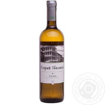 Вино Старый Тбилиси Алазани белое полусладкое 0,75л