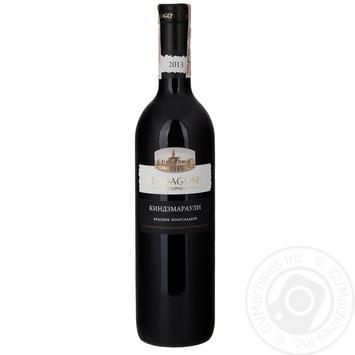 Вино Badagoni Кіндзмараулі червоне напівсолодке 10-12% 0,75л - купити, ціни на CітіМаркет - фото 1