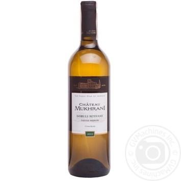 Chateau Mukhrani Goruli Mtsvane white dry wine 12% 0,75l