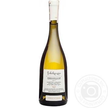 Вино Tbilvino Цинанадалі 12% 0,75л