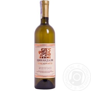Вино Shumi Цинандалі 12% 0,75л