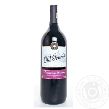 Вино Old Gruzia Алазанская долина красное полусладкое 1,5л