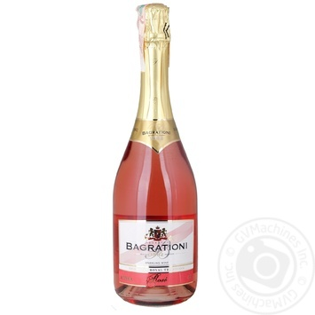 Вино ігристе Bagrationi рожеве напівсолодке 12% 0,75л