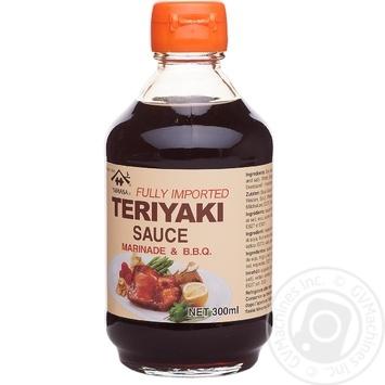 Соус соевый Yamasa Teriyaki 300г - купить, цены на Ашан - фото 1