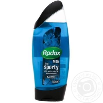 Скидка на Radox Гель для душа Почувствуй востановление 250мл