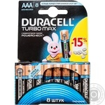 Батарейки Duracell AAA 8шт