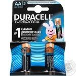 Duracell TurboMax АА 1,5V Battery 2pcs