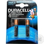 Battery Duracell for home aaa 2pcs 200g