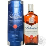 Ballantine's Finest blended scotch whiskey 43% 0,75l